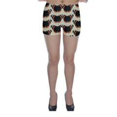 Butterfly Butterflies Insects Skinny Shorts