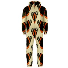 Butterfly Butterflies Insects Hooded Jumpsuit (men)