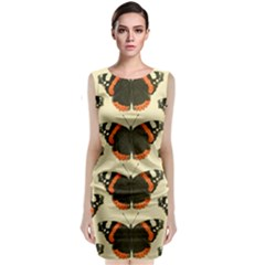 Butterfly Butterflies Insects Classic Sleeveless Midi Dress