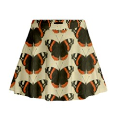 Butterfly Butterflies Insects Mini Flare Skirt