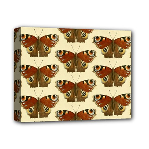 Butterfly Butterflies Insects Deluxe Canvas 14  X 11
