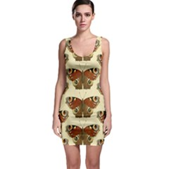 Butterfly Butterflies Insects Sleeveless Bodycon Dress