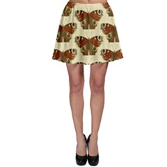 Butterfly Butterflies Insects Skater Skirt
