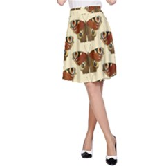 Butterfly Butterflies Insects A Line Skirt