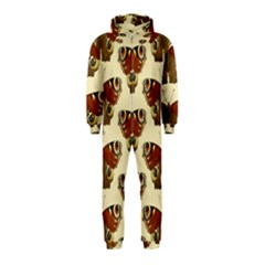 Butterfly Butterflies Insects Hooded Jumpsuit (Kids)