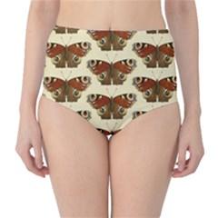 Butterfly Butterflies Insects High Waist Bikini Bottoms