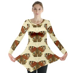 Butterfly Butterflies Insects Long Sleeve Tunic