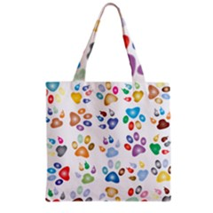 Colorful Prismatic Rainbow Animal Grocery Tote Bag