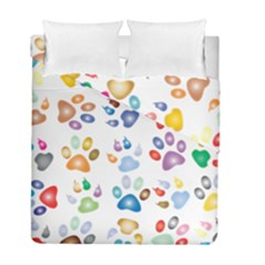 Colorful Prismatic Rainbow Animal Duvet Cover Double Side (full/ Double Size)