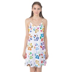 Colorful Prismatic Rainbow Animal Camis Nightgown