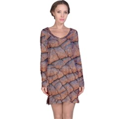 Elephant Skin Long Sleeve Nightdress