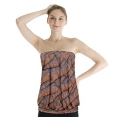 Elephant Skin Strapless Top