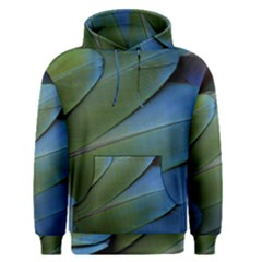 Feather Parrot Colorful Metalic Men s Pullover Hoodie