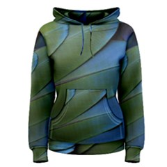 Feather Parrot Colorful Metalic Women s Pullover Hoodie