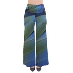 Feather Parrot Colorful Metalic Pants