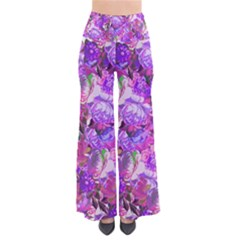 Flowers Abstract Digital Art Pants