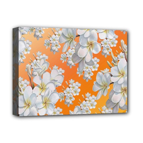 Flowers Background Backdrop Floral Deluxe Canvas 16  X 12