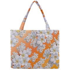Flowers Background Backdrop Floral Mini Tote Bag
