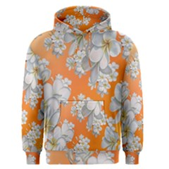 Flowers Background Backdrop Floral Men s Pullover Hoodie