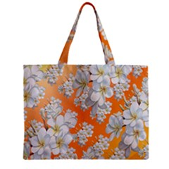 Flowers Background Backdrop Floral Zipper Mini Tote Bag