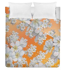 Flowers Background Backdrop Floral Duvet Cover Double Side (queen Size)