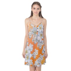 Flowers Background Backdrop Floral Camis Nightgown