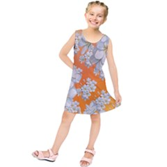 Flowers Background Backdrop Floral Kids  Tunic Dress