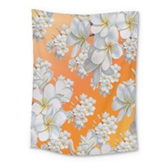Flowers Background Backdrop Floral Medium Tapestry