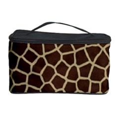 Giraffe Animal Print Skin Fur Cosmetic Storage Case