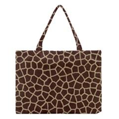 Giraffe Animal Print Skin Fur Medium Tote Bag