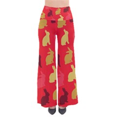 Hare Easter Pattern Animals Pants