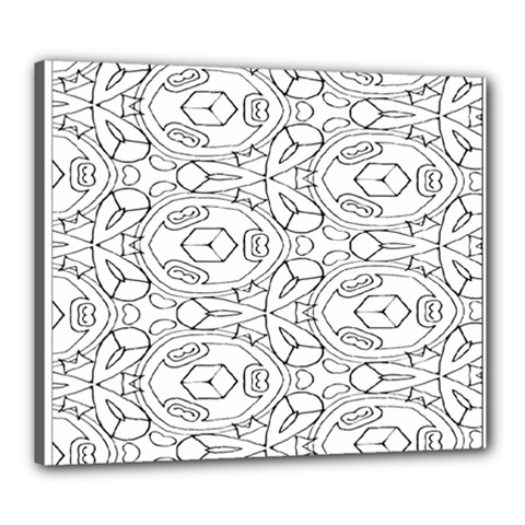 Pattern Silly Coloring Page Cool Canvas 24  X 20