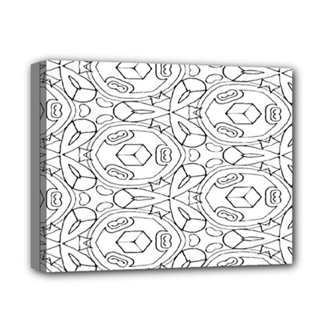 Pattern Silly Coloring Page Cool Deluxe Canvas 14  X 11
