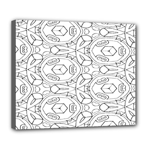 Pattern Silly Coloring Page Cool Deluxe Canvas 24  X 20