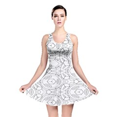 Pattern Silly Coloring Page Cool Reversible Skater Dress
