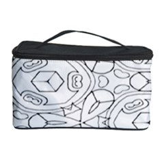 Pattern Silly Coloring Page Cool Cosmetic Storage Case