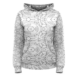 Pattern Silly Coloring Page Cool Women s Pullover Hoodie