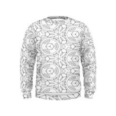 Pattern Silly Coloring Page Cool Kids  Sweatshirt