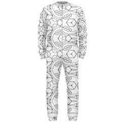 Pattern Silly Coloring Page Cool Onepiece Jumpsuit (men)