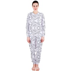 Pattern Silly Coloring Page Cool OnePiece Jumpsuit (Ladies)