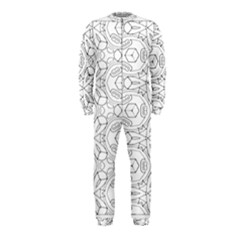 Pattern Silly Coloring Page Cool Onepiece Jumpsuit (kids)