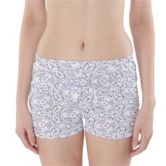 Pattern Silly Coloring Page Cool Boyleg Bikini Wrap Bottoms