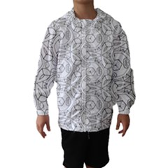Pattern Silly Coloring Page Cool Hooded Wind Breaker (kids)