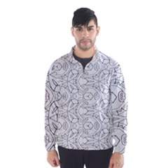 Pattern Silly Coloring Page Cool Wind Breaker (men)