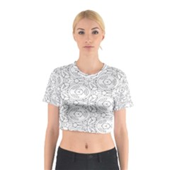 Pattern Silly Coloring Page Cool Cotton Crop Top