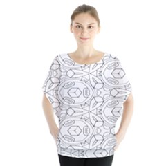 Pattern Silly Coloring Page Cool Blouse