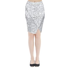 Pattern Silly Coloring Page Cool Midi Wrap Pencil Skirt