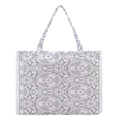 Pattern Silly Coloring Page Cool Medium Tote Bag