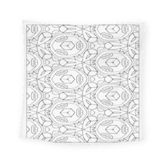 Pattern Silly Coloring Page Cool Square Tapestry (small)