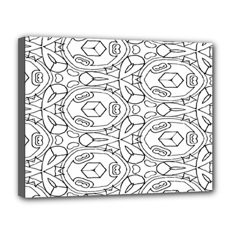 Pattern Silly Coloring Page Cool Canvas 14  X 11